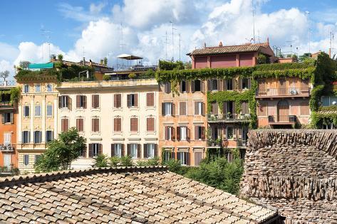 Dolce Vita Rome Collection - Architecture in Rome II Photographic Print