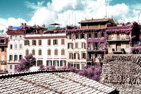 Dolce Vita Rome Collection - Architecture in Rome Photographic Print