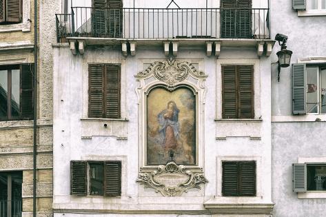 Dolce Vita Rome Collection - Architecture Rome V Photographic Print