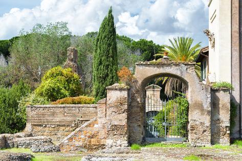 Dolce Vita Rome Collection - Architecture Rome VII Photographic Print