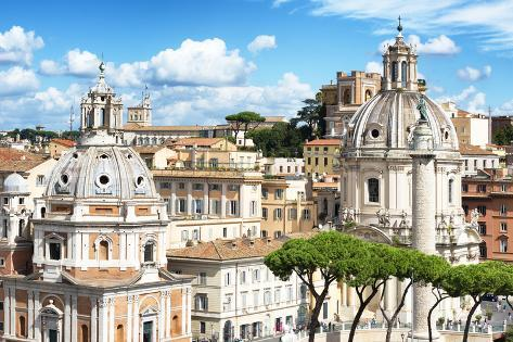 Dolce Vita Rome Collection - City of Rome Photographic Print