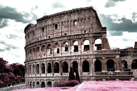 Dolce Vita Rome Collection - Colosseum II Photographic Print