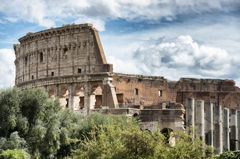 Dolce Vita Rome Collection - Colosseum X Photographic Print