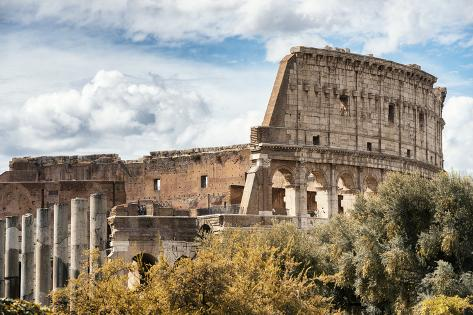 Dolce Vita Rome Collection - Colosseum XI Photographic Print