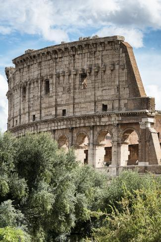 Dolce Vita Rome Collection - Colosseum XII Photographic Print