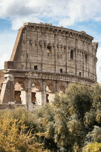 Dolce Vita Rome Collection - Colosseum XIII Photographic Print