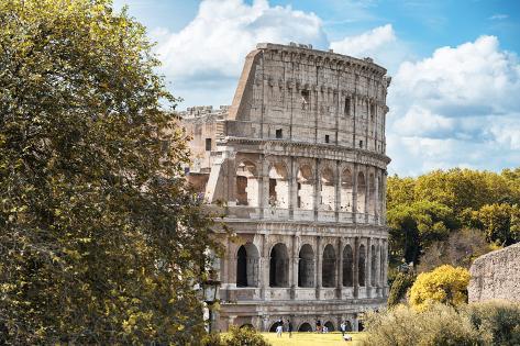 Dolce Vita Rome Collection - Colosseum XV Photographic Print