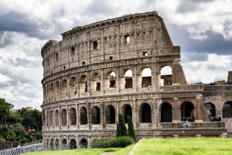 Dolce Vita Rome Collection - Colosseum Photographic Print