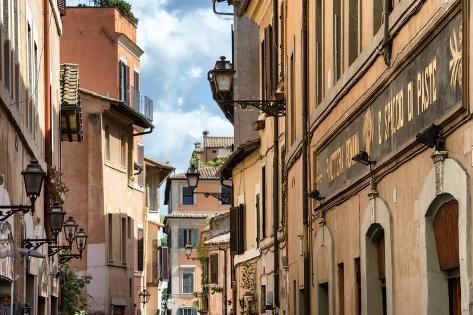 Dolce Vita Rome Collection - Facades Rome II Photographic Print