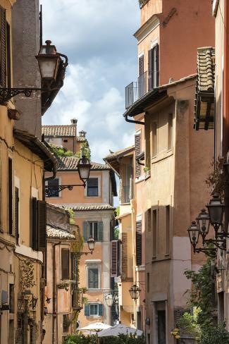 Dolce Vita Rome Collection - Facades Rome Photographic Print