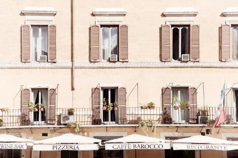 Dolce Vita Rome Collection - Pizzera Restorante II Photographic Print