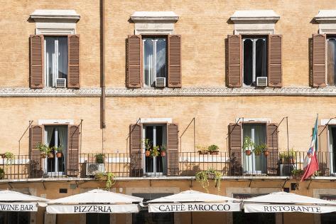 Dolce Vita Rome Collection - Pizzera Restorante Photographic Print