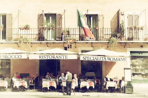 Dolce Vita Rome Collection - Ristorante II Photographic Print