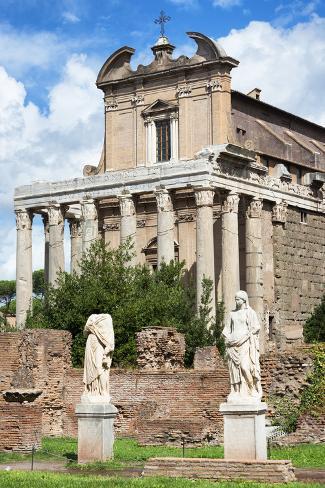 Dolce Vita Rome Collection - Roman Architecture III Photographic Print