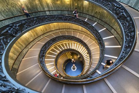 Dolce Vita Rome Collection - Spiral Staircase IV Photographic Print