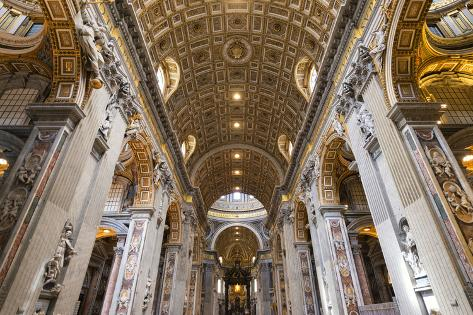 Dolce Vita Rome Collection - St. Peter Basilica Photographic Print
