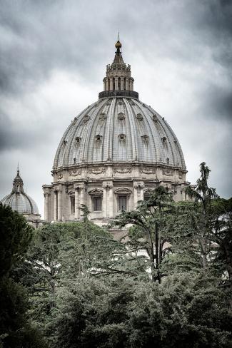 Dolce Vita Rome Collection - St Pierre de Rome Basilica II Photographic Print