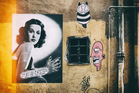 Dolce Vita Rome Collection - Street Art II Photographic Print