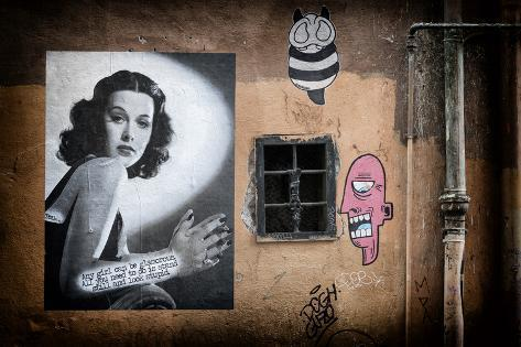 Dolce Vita Rome Collection - Street Art III Photographic Print