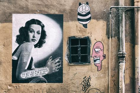 Dolce Vita Rome Collection - Street Art IV Photographic Print