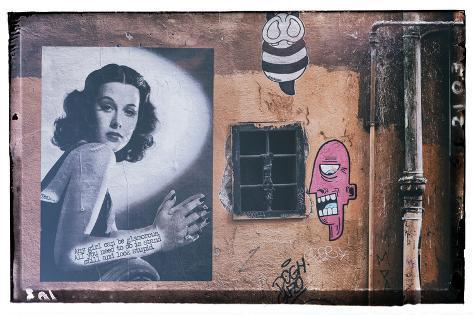 Dolce Vita Rome Collection - Street Art Photographic Print