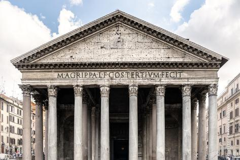 Dolce Vita Rome Collection - The Pantheon II Photographic Print