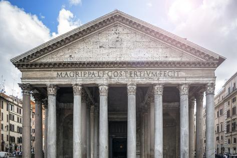 Dolce Vita Rome Collection - The Pantheon III Photographic Print