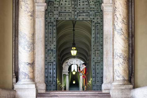 Dolce Vita Rome Collection - The Swiss Guard of Vatican City Photographic Print