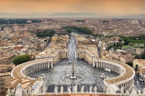 Dolce Vita Rome Collection - The Vatican City at Sunset III Photographic Print