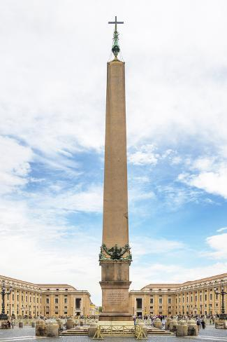 Dolce Vita Rome Collection - The Vatican Obelisk Photographic Print