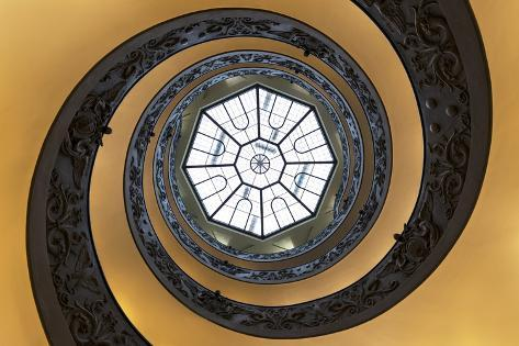 Dolce Vita Rome Collection - The Vatican Spiral Staircase Photographic Print