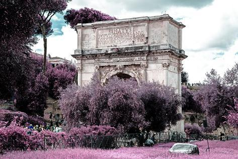 Dolce Vita Rome Collection - Triumphal Arches II Photographic Print
