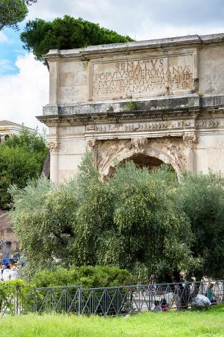 Dolce Vita Rome Collection - Triumphal Arches III Photographic Print