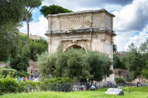 Dolce Vita Rome Collection - Triumphal Arches Photographic Print