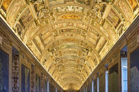 Dolce Vita Rome Collection - Vatican Museum Photographic Print