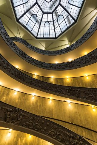 Dolce Vita Rome Collection - Vatican Staircase Photographic Print
