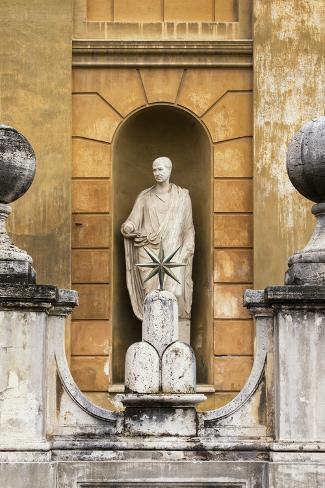 Dolce Vita Rome Collection - Vatican Statue Photographic Print