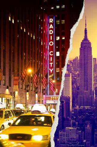 Dual Torn Posters Series - New York City Photographic Print