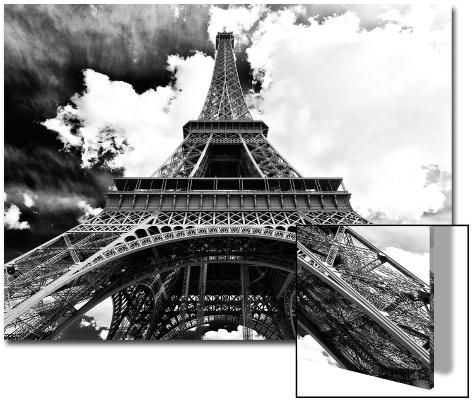 Eiffel Tower - Paris - France - Europe Art on Acrylic