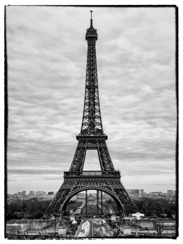 Black And White Photography Eiffel Tower