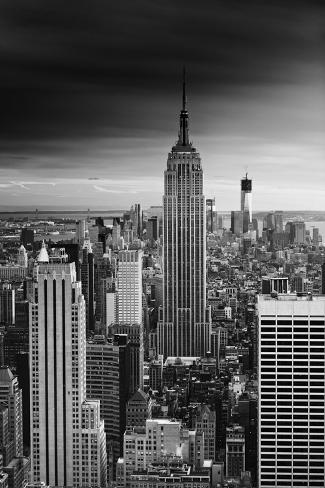 Empire State Building - Sunset - Manhattan - New York City - United States Photographic Print