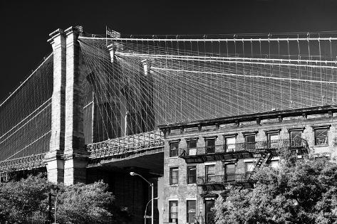 Landscapes - Brooklyn Bridge - New York - United States Photographic Print