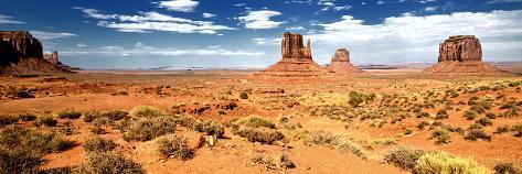 Panoramic Landscape - Monument Valley - Utah - United States Photographic Print