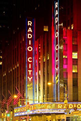 Radio City Music Hall - Manhattan - New York City - United States Photographic Print