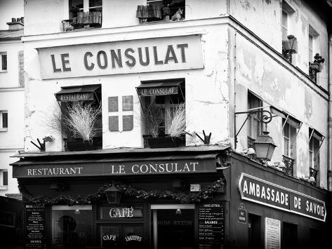 Restaurant le consulat montmartre france photographic for Le miroir restaurant montmartre