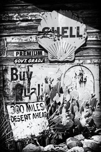 Route 66 - advertising - Arizona - United States Photographic Print