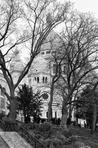 Sacre-Cœur Basilica - Montmartre - Paris Photographic Print