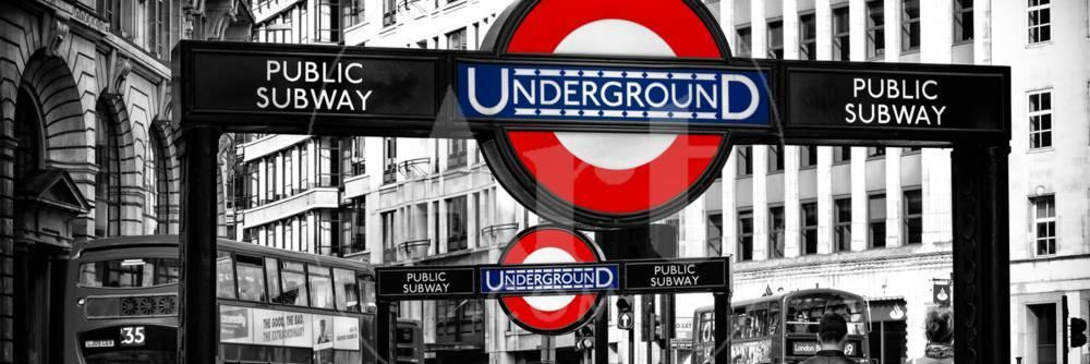 The Underground Signs Subway Station Sign City Of London Uk England United Kingdom Photographic Print Philippe Hugonnard Allposters Com