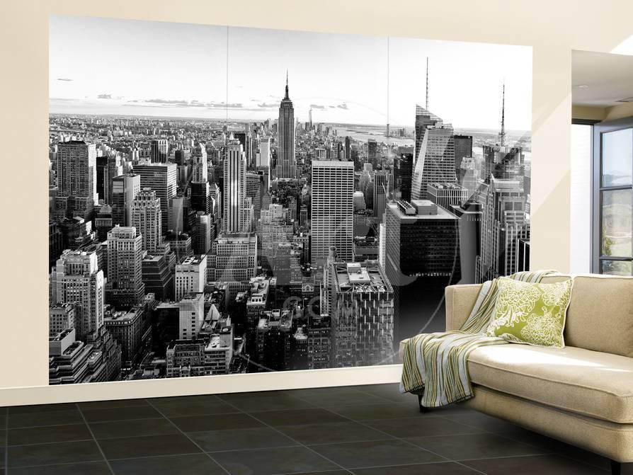 Wall Mural Manhattan Skyline With The Empire State Building New