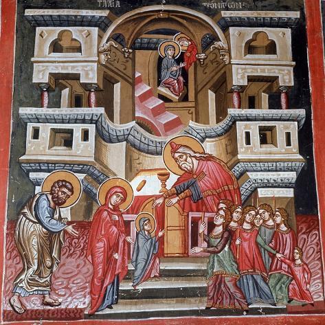 Presentation of the Virgin, 1494 Lámina giclée